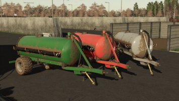 Small Manure Barrel fs19