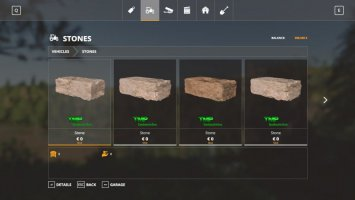 Stone Pack fs19