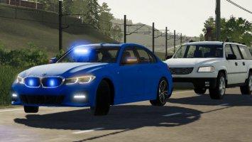 BMW 330i M G20 Zivil/Kripo/SEK/Polizei fs19