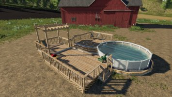 Garden Decking And Pool v1.1