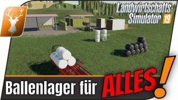 HoT Ballenlager (MP/FE/HE) fs19