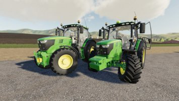John Deere 6R Small-Medium fs19