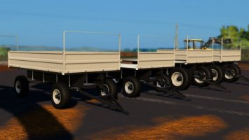 Lizard Metal Trailer fs19