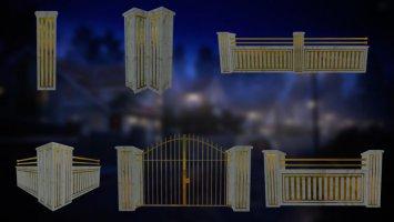 Luxury Fences Pack fs19