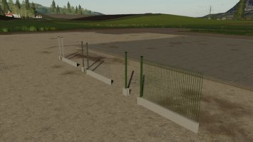 Metal Panel Fences fs19