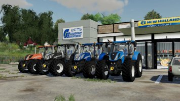 New Holland T7 SWB fs19