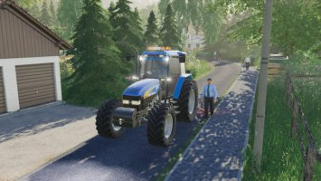 New Holland TM 7020 fs19