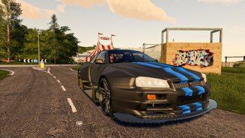 Nissan Skyline GTR R34 fs19