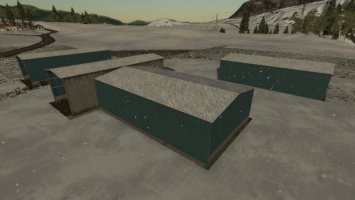 Pack Bunker Silo Covered fs19