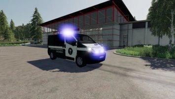 Pojazd Inspekcji Transportu v1.1 fs19