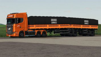 Randon Bitrem Short Bulk Carrier Randon Line R fs19