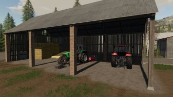 Straw Shed fs19