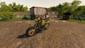 Battlefield Motocross Dirt Bike