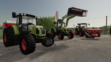 Claas Arion 600 (610, 620, 630, 640) v1.1.1.9 fs19