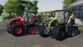 CLAAS AXION Terra Trac X-Treme Edition by MH Tuning v1.0.0.1 fs19