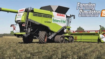 Claas Lexion Osters & Voß Edition