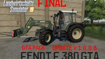 Fendt F 380GTA v1.0.0.6 fs19