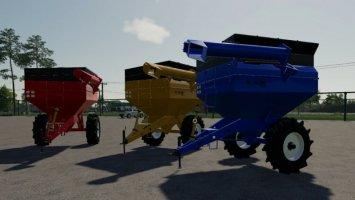 Landwirtschaftlicher Anhänger Massengutfrachter IB AR 100 v1.1 fs19