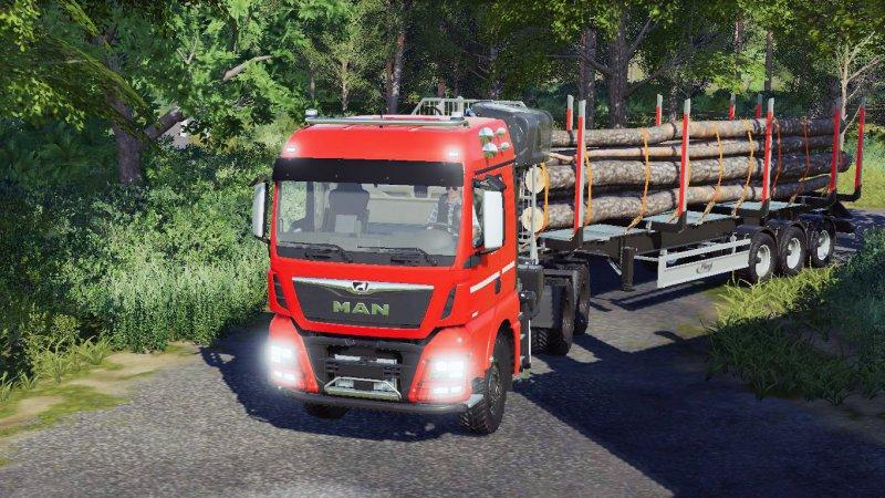 MAN TGX 26.600 Forst FS19