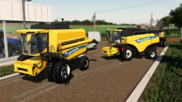 New Holland CR5080 And TX 5.90 v2 fs19