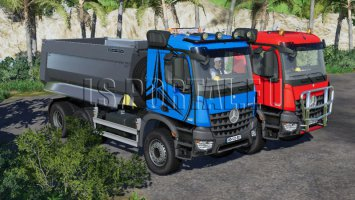 Pack Mercedes-Benz Arocs 6x4 fs19