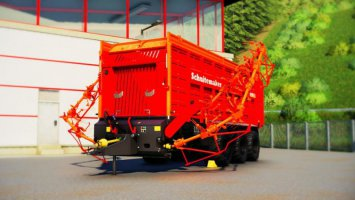 Rapide 8400 Windrower & Loading Wagon fs19