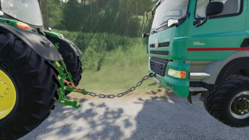 Towing Chain With Hook fs19