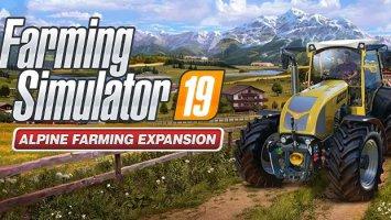 Farming Simulator 19 - Alpine Farming DLC fs19