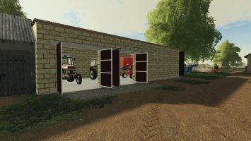 Garage Für Den Mähdrescher fs19