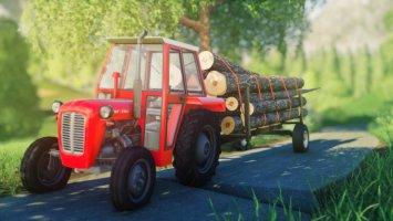 Homemade forest trailer v1.1 fs19