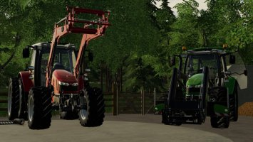 Massey Ferguson 5600 with SIC fs19