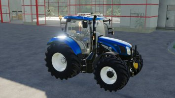 New Holland T6 2012 Modded fs19