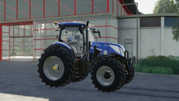 New Holland T7 SWB Modded fs19
