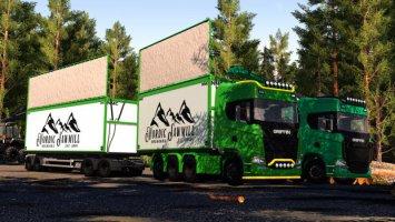 NMC Woodchip Transport Pack fs19