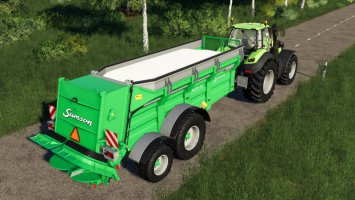 Lime To Manure Spreader fs19