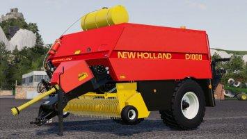 New Holland D1000 Ballenpresse fs19