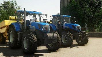 New Holland T7/T7000 fs19