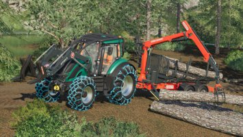 Valtra T Forest Pack fs19