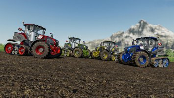 Claas Axion 900TT Color configurations fs19