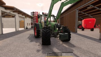 Fendt 700/800 TMS with TirePressure and Com 2 fs19