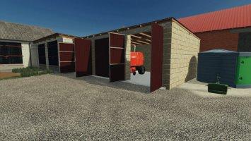 Garage 11x3,5x6 fs19