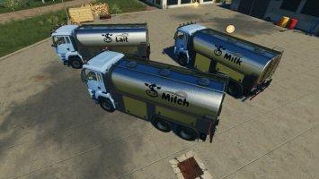 MAN TGS Milk Truck fs19