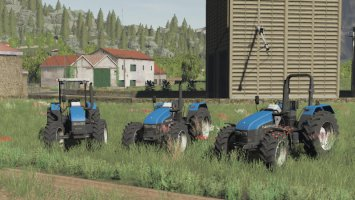 New Holland Serie TL No Cab fs19