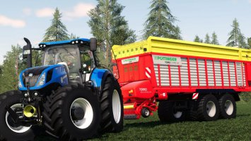 New Holland T7 v1.0.1 fs19