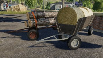 Old Wooden Wagon FS19