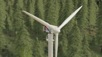 Platzierbare Windkraftanlage TW 80 fs19