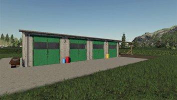 Workshop With Machine Storage