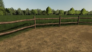Old Wooden Fence fs19