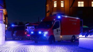 Rettungsdienst Pack fs19