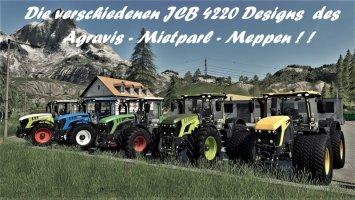 JCB 4220 Agravis Auction's Set tractors-fs19